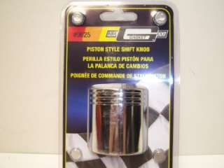 HOT RAT ROD SHIFT SHIFTER KNOB PISTON STYLE CHROME
