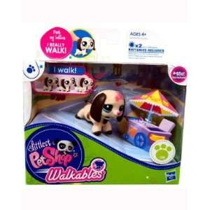 Littlest Pet Shop Walkables Figure #2381 Dachshund: Toys