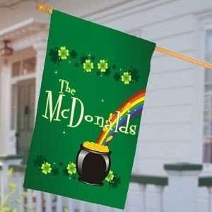 St. Patricks Day House Flag Irish Flag Patio, Lawn & Garden