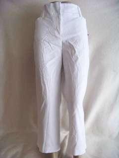 NWT Style & Co. White career Capri pants women size 16
