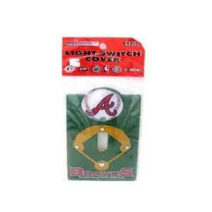 Atlanta Braves Switch Plate Cover Case Pack 72 Sports