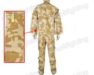 Airsoft Military Special Force Combat Uniform Shirt & Pants Desert DPM