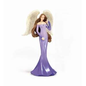 Healing Angel Figurine   Gemstone Healing Powers, Tanzanite, Change