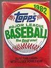 1982 TOPPS BASEBALL WAX BOX RIPKEN RC