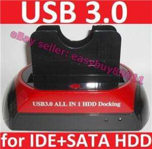 IDE SATA HDD Hard Drive USB 3.0 Dock Docking Station