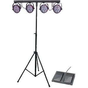 CHAUVET MINI 4BAR LED DJ Stage Wash Light System + Bag
