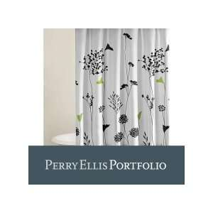 City Scene Asian Lily Shower Curtain: Home & Kitchen
