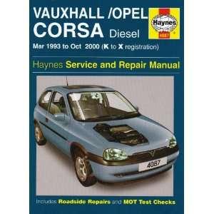 Vauxhall/Opel Corsa Diesel Service and Repair Manual
