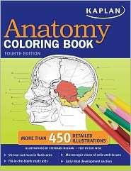Kaplan Anatomy Coloring Book, (1419550403), Stephanie Mccann