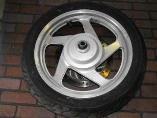 94 03 Honda Magna 750 VF750cd Front Wheel Tire Rotor
