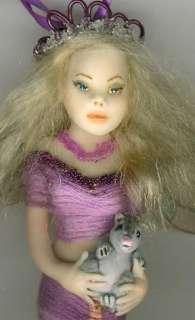 OOAK Fairy Posable Dollhouse Mini Baby Miniature Willow Sculpt Biel