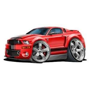 Mustang GT Super Snake 427 *Original Art* Car Wall Graphic Full