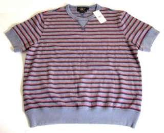175 Nwt RRL Ralph Lauren Striped Kon Tiki Sweater Shirt Large