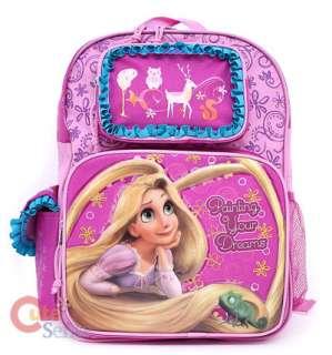 Disney Princess Tangled Rapunzel School Backpack/Bag 16in Large