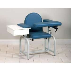 SERIES BLOOD DRAWING CHAIRS Uph seat, flip arms & drawer Item# 6020 F