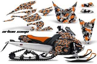 AMR RACING SNOWMOBILE DECAL SNOW SLED GRAPHIC KIT YAMAHA FX NYTRO 08