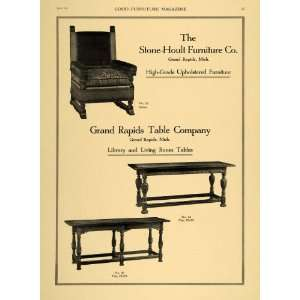 1921 Ad Stone Hoult Furniture Co Grand Rapids Table Co