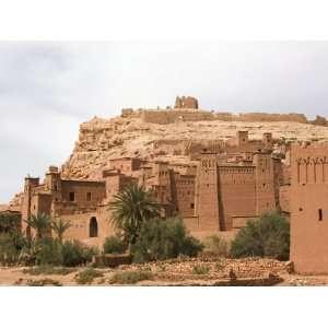 Ait Benhaddou Kasbah, Ouarzazate, Atlas Mountains, Morocco
