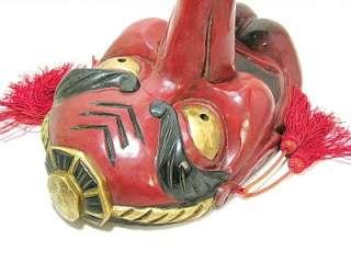 BIG Japanese NOH TENGU Evil Oni Devil Hannya Mask Men