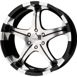 Liquid Metal Flare Series Black Mirror Machined Wheel (20x8.5/6x135mm