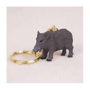 Razorback Hog Key Chain