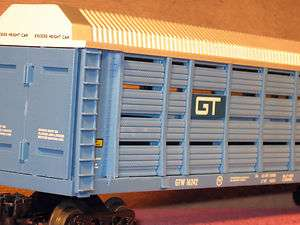 LIONEL MODERN #6 16242 GRAND TRUNK TWO TIER SCREENED AUTO CARRIER CAR