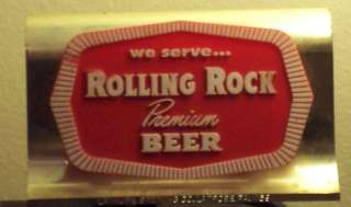 Rolling Rock Beer Display Latrobe Brewing