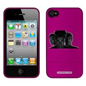 Star Trek Kirk Spock & Uhura on AT&T iPhone 4 Case by