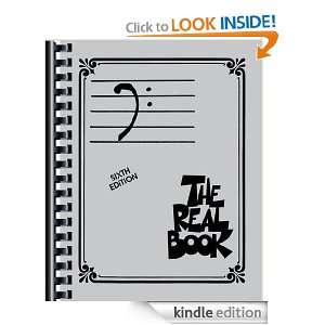 The Real Book  Bass Clef; Sixth Edition Hal Leonard Corp.