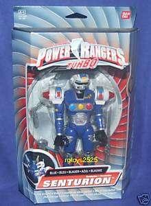 Power Rangers Turbo BLUE SENTURION New Rare ranger 8