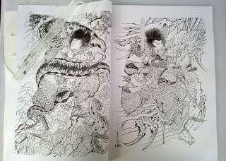 JAPAN RARE TATTOO FLASH MAGAZINE BOOK MANUSCRIPT S