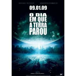 The Day the Earth Stood Still Poster Brazilian 27x40Keanu