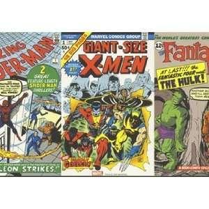 Classic Marvel Comics Wallpaper Border