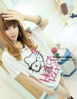 HelloKitty women girl Tee shirt top dress tank