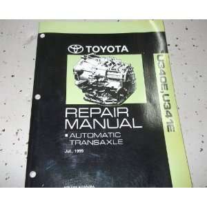 2004 Toyota ECHO AUTOMATIC TRANSAXLE Service Shop Repair