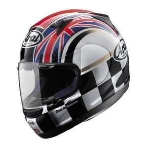 UK Flag Full Face Motorcycle Riding Race Helmet  UK Flag Automotive