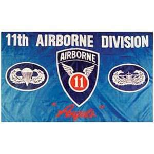 U.S. Army 11th Airborne Division Flag 3ft x 5ft Patio