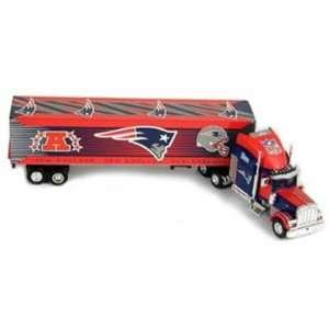 England Patriots Fleers/Upper Deck NFL Peterbilt Semi Truck/Tractor