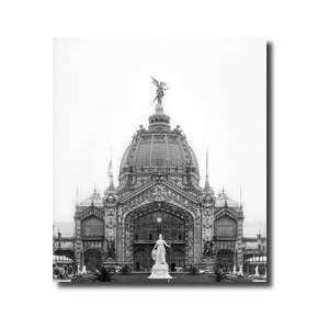 View Of The Central Dome Universal Exhibition Paris 1889 Giclee Print