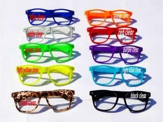 Heaps of Colours To Choose Mens Womens Wayfarer Sunglasses Retro