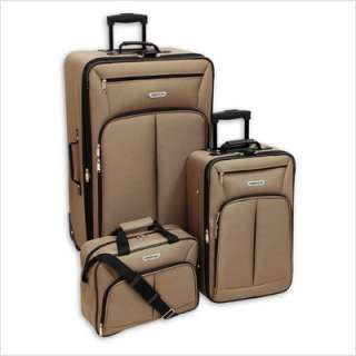Case Jackson 3 Piece Luggage Set Taupe 0960 3 TPE 044142096033