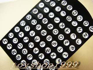 wholesale lots of 108pairs English letters Earrings New