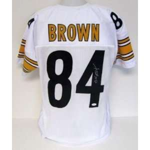 Antonio Brown Signed Jersey   White JSA   Autographed NFL Jerseys