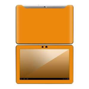 Simply Orange Design Decorative Skin Cover Decal Sticker for Samsung