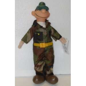 15 Beetle Bailey; Plush Stuffed Toy Doll; A Beetle Bailey