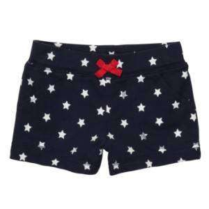 Carters Baby Girls Navy Blue White Star Shorts NWT