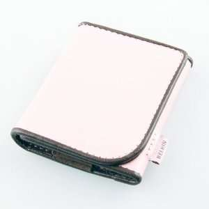 Belkin Pink Leather Folio Case Cover for iPod nano 3G