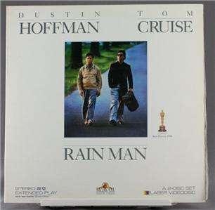 Laser Disc Movie Rain Man Dustin Hoffman Tom Cruise