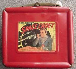 Original Vintage Tom Corbett Space Cadet lunch box 1952