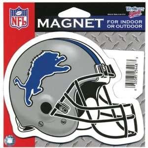 Detroit Lions   Helmet Indoor/Outdoor Magnet Kitchen
